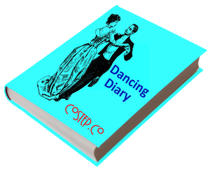 CoStepCo Dancing Diary Cover