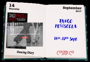 Tango Peñíscola 14 to 17 Sept 2017