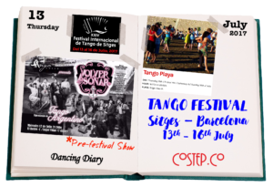 Tango Festival Sitges Barcelona - CoStep.Co Dancing Diary