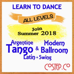 Argentine Tango and Modern Ballroom Dance Classes in Scotland