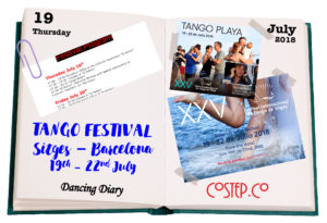 Tango Festival Sitges Barcelona 2018