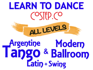 Learn to dance Argentine Tango, Modern Ballroom, Salsa & Swing with CoStep.Co