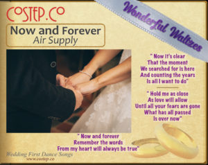 CoStepCo First Dance Wedding Waltzes – Now and Forever