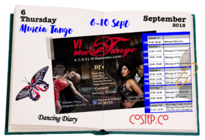 """Murcia Tango"" offers an opportunity to mix tango with some invigorating rest & relaxation. It takes place from 6th till 10th Sept in Archena."