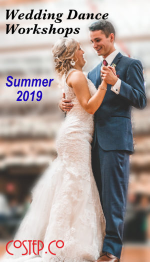 Wedding Dance Workshops Summer 2019
