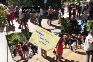 Milonga in Jardin Massey during Tango Festival in Tarbes