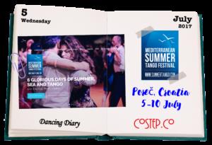 Tango Festival in Poreč, Croatia