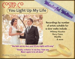 Wedding First Dance (Waltz) - You Light Up My Life