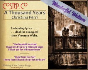 Wedding Dance Waltzes - A Thousand Years
