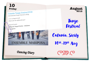 Tango Festival Catania, Sicily - August 2018