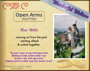 CoStepCo First Dance Wedding Waltzes – Open Arms