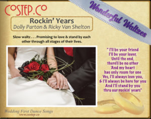 CoStepCo First Dance Wedding Waltzes – Rockin' Years