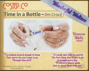 CoStepCo First Dance Wedding Waltzes – Time in a Bottle