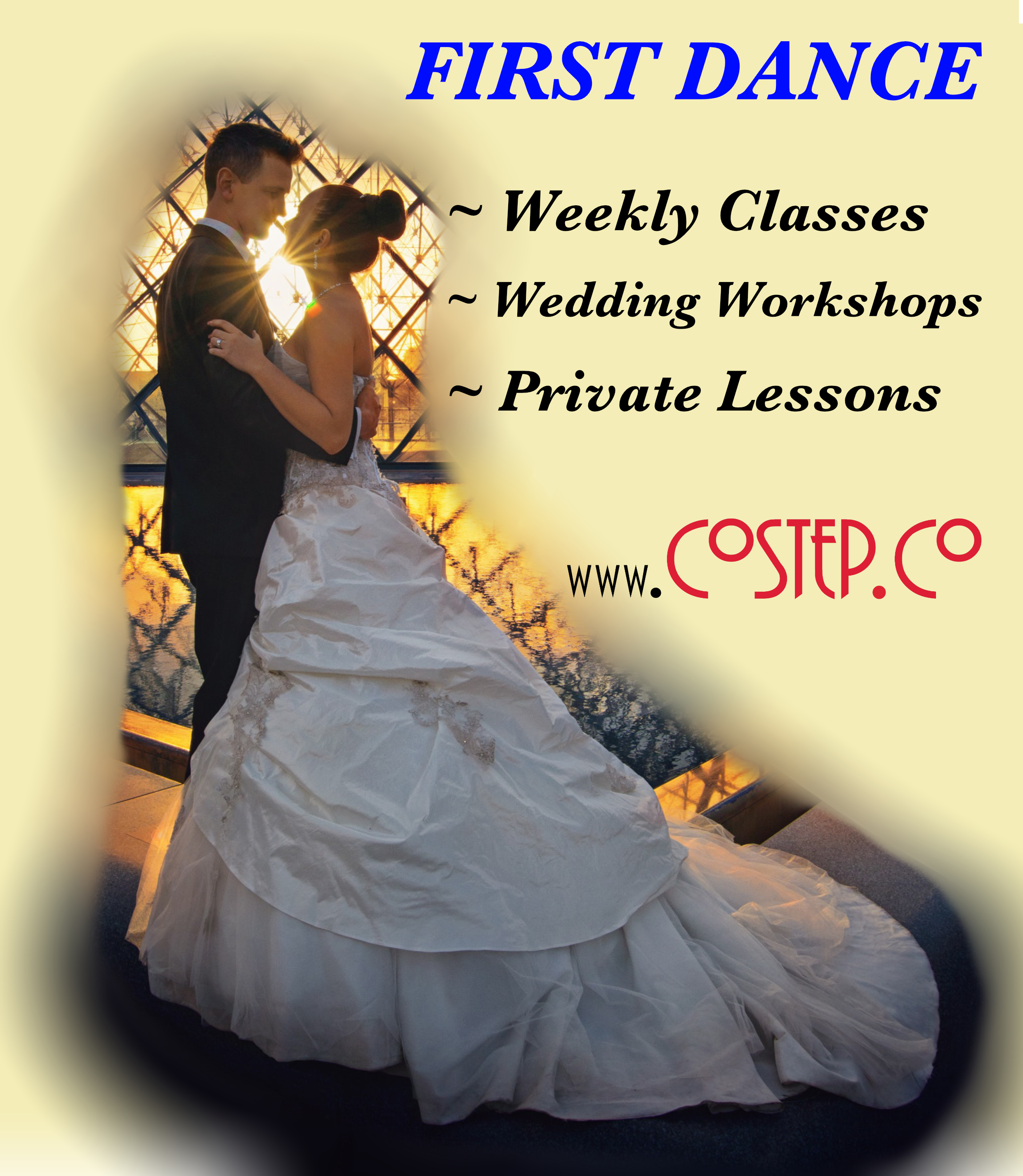 Wedding First Dance Tuition from CoStep.Co