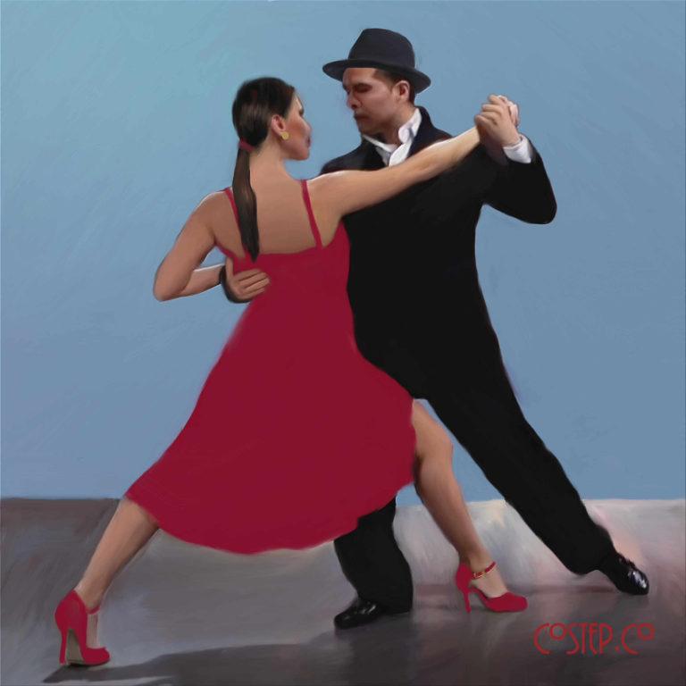 CoStepCo Tango Dancers