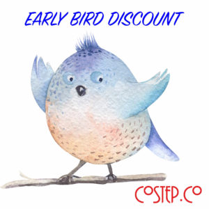 Early Bird Discount